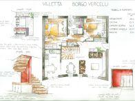 Villa Vendita Borgo Vercelli